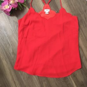 J Crew neon pink blouse top size 4